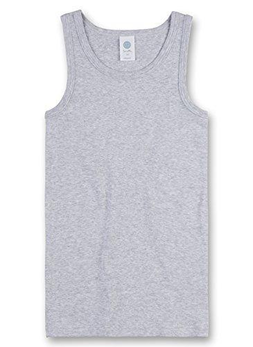 Sanetta Jungen 300000 Unterhemd, Grau (Hellgrau 1646), 140