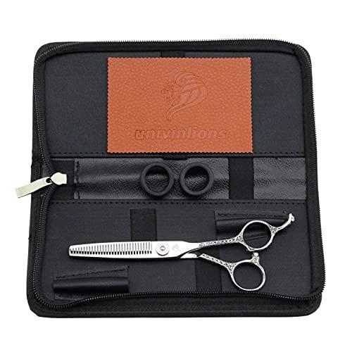 Cizallas de 6.0 pulgadas Tijeras de peluquería Profesional Tijeras para el cabello Tijeras de adelgazamiento de cabello Trimmer Herramientas Accesorios de peluquería para peluquería Play Clips JanPano