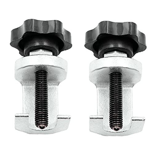 2ST Arm Abzieher Wischerarm Removal Tool Set Scheibenwischer Puller Spezialwerkzeuge für Demontage Auto Scheibenwischer Silber