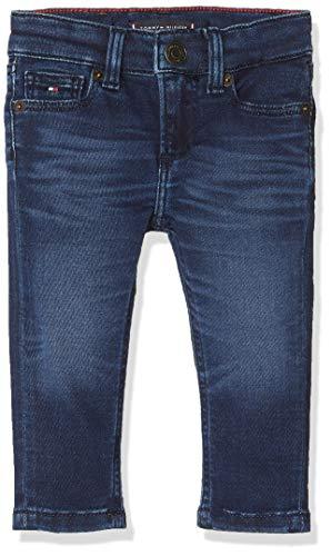 Tommy Hilfiger Scanton Slim Sldabst Jeans, Azul (Denim 1Bj), (Talla del Fabricante: 80) para Niños