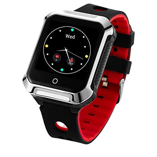 Oferta de Muvit iO MIOSMW014 SOS Health Senior Rojo Reloj Localizador GPS con Botón de SOS