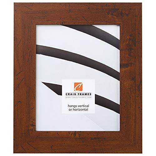 Craig Frames FM74DKW 12 by 18-Inch Picture Frame, Smooth Finish, 2-Inch Wide, Dark Brown