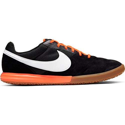 Nike The Premier II Sala - Zapatillas de Running, Color Negro/Blanco y Naranja, tamaño 11