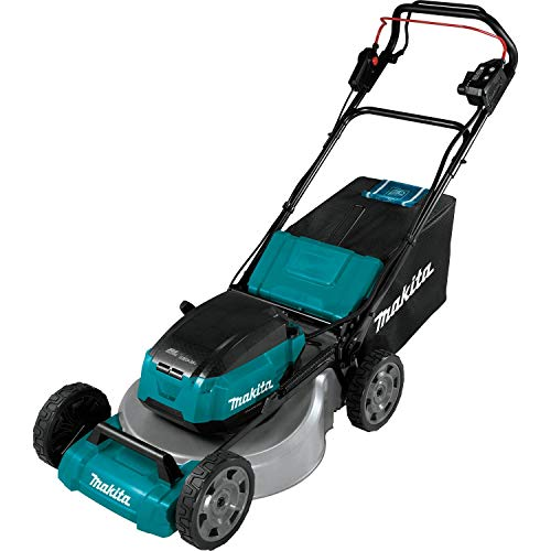 "Makita XML06Z (36V) LXT Lithium‑Ion Brushless Cordless, Tool Only 18V X2 18"" Self Propelled Lawn Mower, Teal"