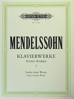 KLAVIERWERKE 1 - LIEDER OHNE WORTE - arrangiert für Klavier [Noten / Sheetmusic] Komponist: MENDELSSOHN BARTHOLDY FELIX