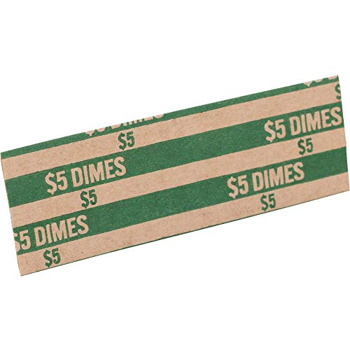SPRTCW10 – Sparco Flat $5.00 Dimes Coin Wrapper