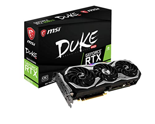 MSI GeForce RTX 2080 Ti DUKE 11 GB GDDR6