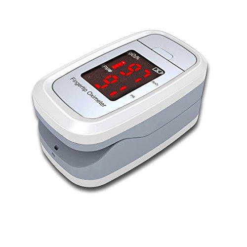 OXIGENO DL1 Finger Pulsoximeter Fingerpulsoxymeter mit viel Zubehör + Batterien