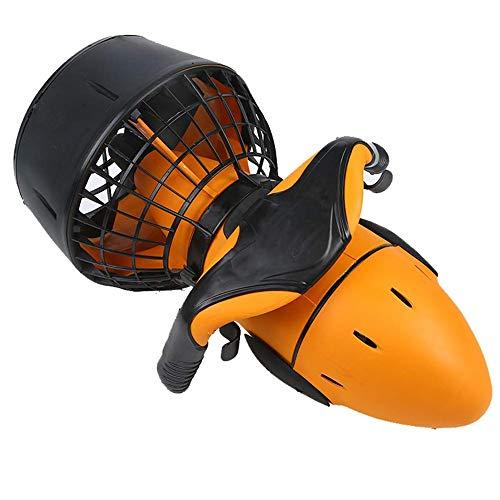 NOBLJX Hélice subacuática Profesional, 300W Electric Sea Scooter Buceo Doble Velocidad Surf Booster, Equipo de Snorkel Adecuado para bajíos, Piscinas