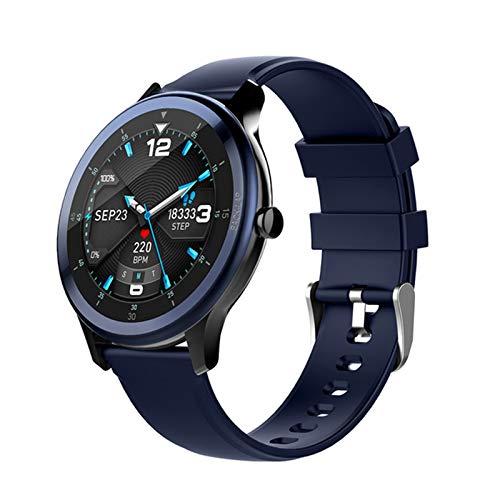 LJMG Reloj Inteligente, G28, Reloj Inteligente Electrónico De Hombres Deportivos, Adecuado para Android iOS Fitness Tracker, Tiempo Cronómetro, Smartwatch,C