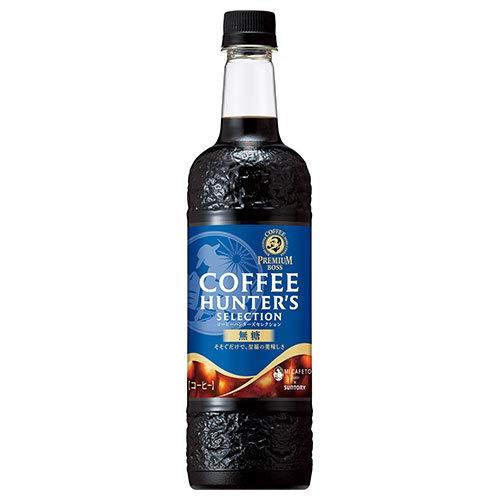 サントリー プレミアムボス コーヒーハンターズセレクション 無糖 750mlペットボトル×12本入×(2ケース)