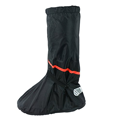 Mode Regen Sneeuw PVC Herbruikbare Vrouwen Mannen Laarzen Dikke Waterdichte Guard Slip-resistente Slijtvaste Opvouwbare Regendichte Schoenen Cover XXL Zwart