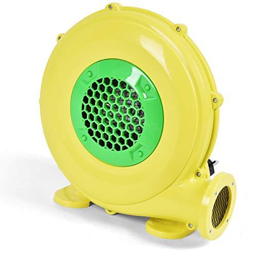 Costzon Air Blower, Pump Fan Commercial Inflatable Bouncer Blower, Perfect for Inflatable Bounce House, Jumper, Bouncy Castle (480 Watt 0.64HP)