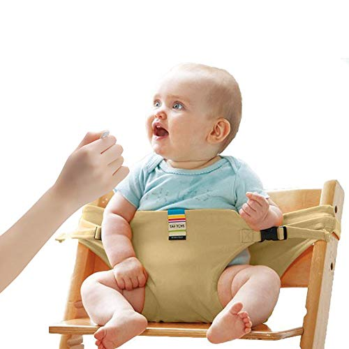 Lychee Baby Dining Chair Safety Seats with Straps, Toddler High Chair Harness Belt