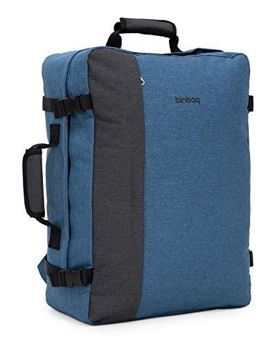 blnbag M3 – Reiserucksack, Ryanair Handgepäck Rucksack 50 cm, Travel Backpack mit Laptopfach 17 Zoll, für Kabine genehmigt, 35 Liter
