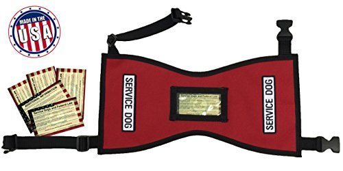 Petjoy-Wiredog Quick-Ship Service Dog Vest
