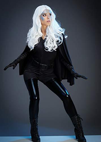 Magic Box Dunkelgraues X-Men Style Storm Kostüm für Damen Small (UK 8-10)