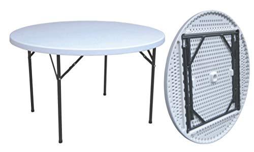 Tavolo tondo in hdpe diam.cm.122