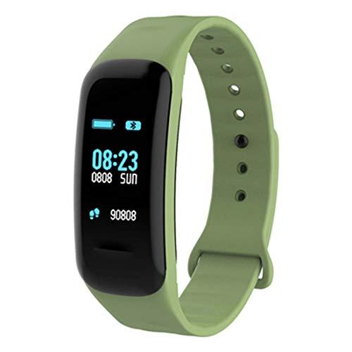 QCHNES Fitness Trackers IP68 Wasserdicht Farbdisplay Intelligentes Armband Pulsmesser Kalorienzähler Sport Schrittzähler Männer und Frauen Sport Armband für Android iOS