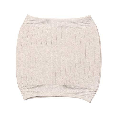 AGIA TEX Nierenwärmer atmungsaktiv elastisch Kaschmir-Wolle Leibwärmer für Damen Herren Kinder beige