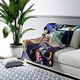 Blanket for Jon Bon Jovi Fans Blanket Winter Collage Sherpa Fleece Blanket Bon Jovi Blanket (60 x 80 inches)