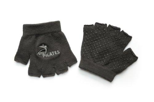Sissel - Guantes de Pilates para Adulto (Talla única), Color Negro