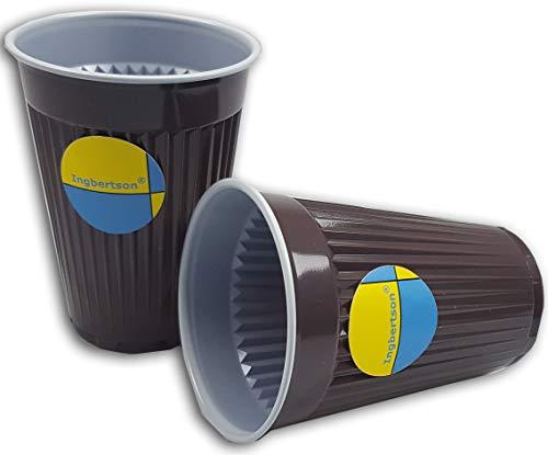 Ingbertson® Kunststoff Automatenbecher 180ml Plastik Kaffeebecher (3000)