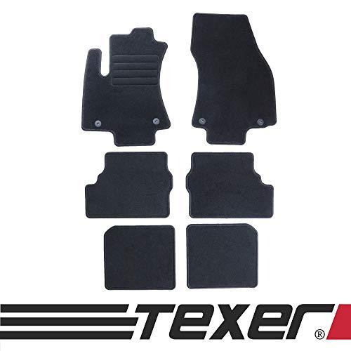 CARMAT TEXER Textil Fußmatten Passend für Opel Zafira A 7-Sitzer Bj. 1999-2005 Basic