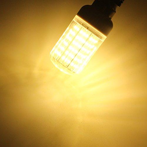 MASUNNE27 E14 B22 11W 138 SMD 4014 LED Chaude Blanche Blanc Couvercle De Maïs Lampe Ampoule Ac110V-Blanc Chaud- E14