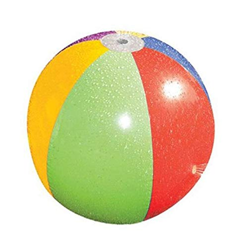 Cutogain - Pelota de Aerosol para Salpicaduras, Sistema de Informe de Bola de Agua, balón de Agua Hinchable para Jugar al Aire Libre, Juguete para Verano y Playa