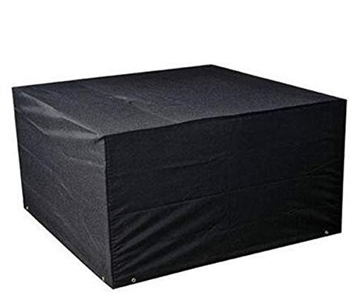 Housse de protection rectangulaire pour table de jardin - En tissu Oxford 210D - Résistante - Imperméable - Pour buffet, spectacle, cuisine