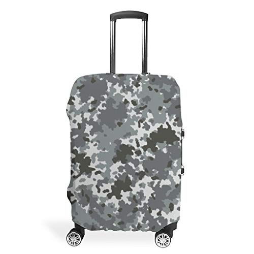 Camouflage Travel Luggage Cover Suitcase Protector Bag White s (49x70cm)