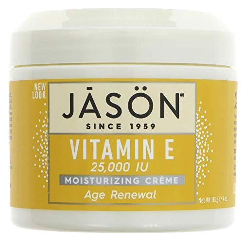 JASON Age Renewal Vitamin E 25,000 IU Moisturizing Crème, 4 Ounce Container (Pack of 2)
