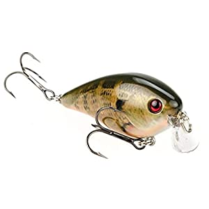 Strike King HCKVDS1.5SH-663 KVD Shallow Square Bill 1.5 Natural Bream