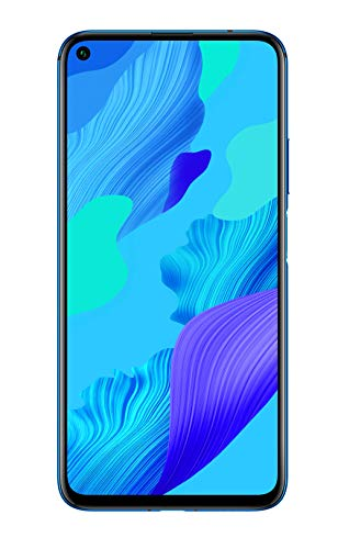 "Huawei Nova 5T - Smartphone de 6.26"" (6 GB RAM, 128 GB Memoria Interna, 48MP AI Five Camera, FullView Display, Sensor de Huella Lateral, 3750 mAh) Dual-SIM, Color Azul"