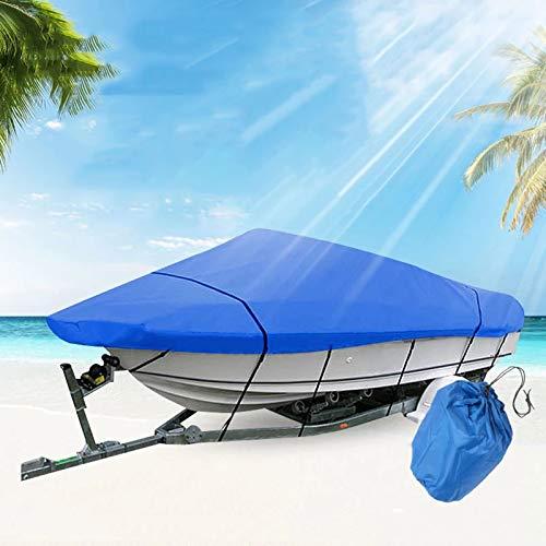 Massage-AED Funda para Barco Impermeable Resistente Al Polvo Marino Anti UV Hielo Nieve Bote Inflable Pontón Bote De Pesca Kayak Cubierta De Sol