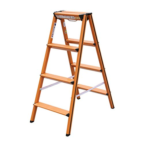 Xiao Jian Aluminium ladder 4 spaarladder voor huishoudelijk gebruik magazijn ladder opklapbare ladder kruk klapstoel