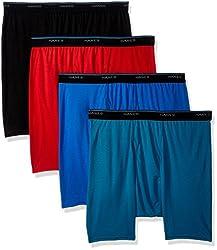 Hanes Homme Standard 4-Pack Comfortblend Boxer Brief avec Freshiq: Amazon.ca: Vêtements et accessoires