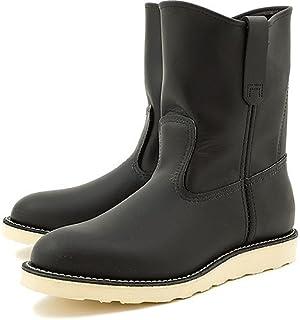 """[レッドウィング] 9インチ ペコスブーツREDWING 8169 9"""" PECOS BLACK CHROME 靴"""