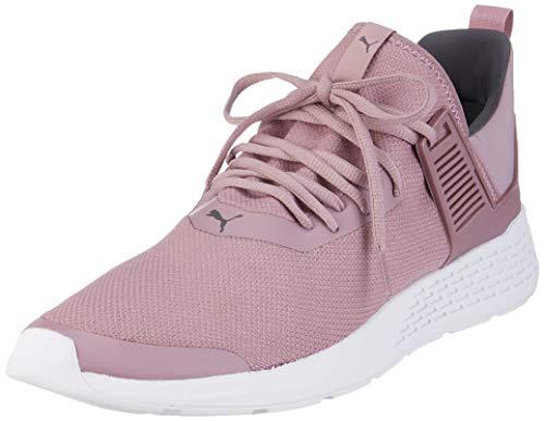 Puma Unisex-Erwachsene Insurge Mesh Sneaker, Violett (Elderberry-Asphalt-Puma White), 42 EU