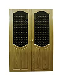 Vinotemp Home Kitchen Restaurant Cocktail Party London 700-Model Wine Cabinet with 2 Glass Doors