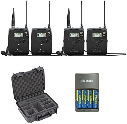 Sennheiser ew 112P G4 Camera Mount Wireless Microphone System with ME 2 II Lavalier Mic G 2 product image