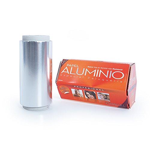 Papel de aluminio HEXAGONAL 120 mm 400 gr - Profesional de peluquería - Bifull Profesional