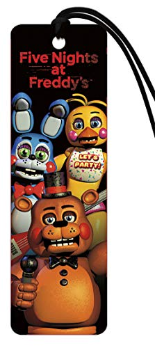 Trends International Five Nights At Freddys Group S Paper Craft Bookmark