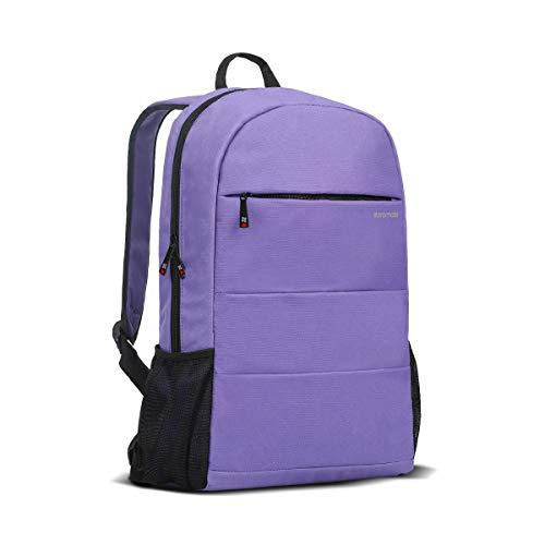 Travel Laptop rugzak, lichtgewicht waterafstotende computertas met diefstalbestendige zakken en verstelbare gevoerde riem voor mannen en vrouwen