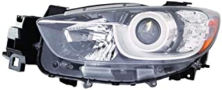 Go-Parts - OE Replacement for 2013 - 2015 Mazda CX-5 Front Headlight Assembly Housing / Lens / Cover - Left (Driver) Side KJ01-51-041C MA2518146 Replacement For Mazda CX-5