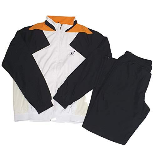 italy Australian Trainingsanzug für Herren, Full Reißverschluss, Größe 48, gerade Hose mit Reißverschluss, Stoffboden
