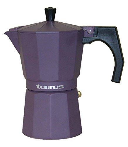 Taurus 984069000 Italica Elégance Cafetière 9 Tasses Lie de Vin
