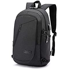 ✈ ANTI-THEFT BACKPACK - This computer Backpack design with a password lock (Note:Please do not set the password before you read the instruction) and double metal zippers, protects wallet and other items inside from thief and offers a private space. ✈...