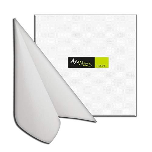 Tovaglioli in TNT Airwave Packservice Color Tissue Bianco 40x40 Confezione 1200pz